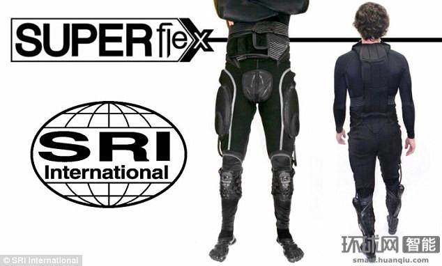 变身超人不是梦!超酷Superflex动力服问世