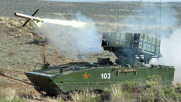 国产红箭系列武器悉数登场