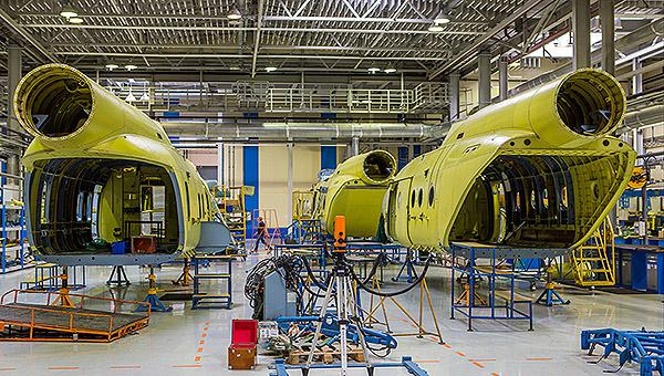 探访俄喀山直升机制造厂