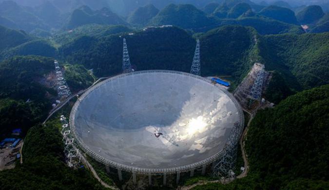 """中国""""天眼""""FAST反射板将竣工 旅游产业迎机遇"""