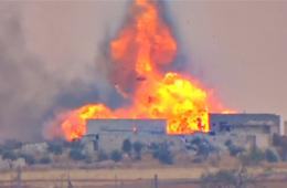 俄坦克遇上美制导弹结果被一发殉爆