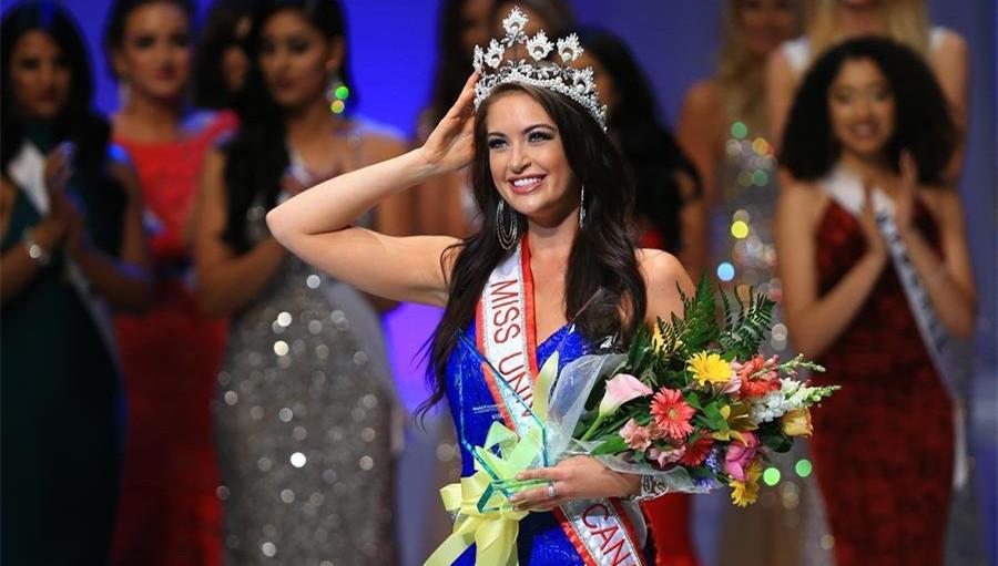 2016加拿大环球小姐选美落幕 20岁女大学生夺冠