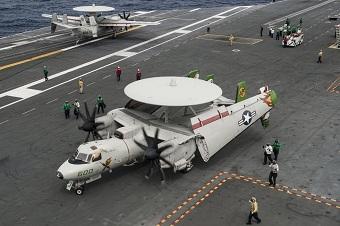 美军里根航母开始亚太巡航