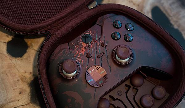 《战争机器4》特别版Xbox One精英手柄上手