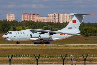 最新一架伊尔76将入列中国空军
