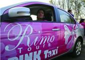 粉红出租车配备女性司机成埃及女性新宠