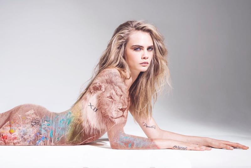 Cara Delevingne 为动物权利全裸