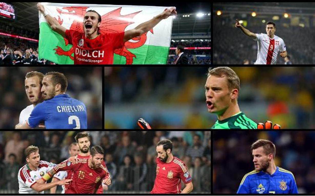 欧洲杯20大球星 C罗压贝尔居首 门将仅一人