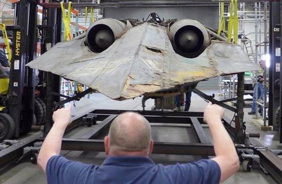 二战纳粹黑科技战机仅剩这一架