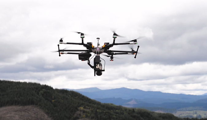 美公司研发无人机播种技术 堪比向土壤中射子弹