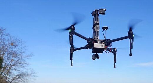 Drone Volt推新型无人机 用于消灭大黄蜂蜂巢