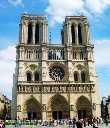 哥特式建筑代表特点及著名的代表作