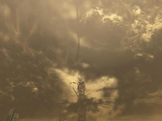 人类太空电梯计划有致命缺陷 实现可能渺茫