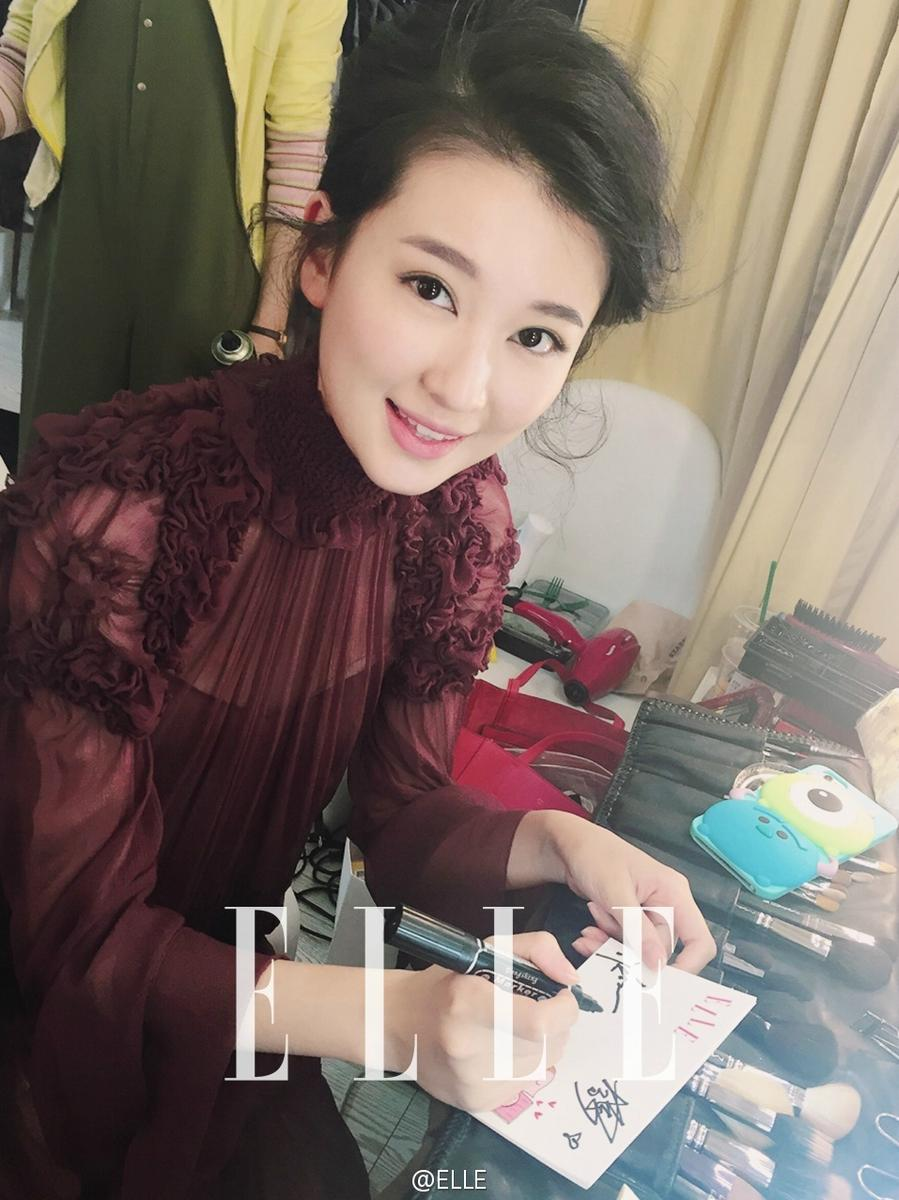 欢乐颂五美同框 刘涛的发型有点 喧嚣
