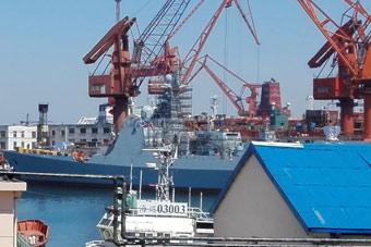 大连船厂不止一艘052D舰在造