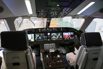 据说这就是C919大飞机的驾驶舱