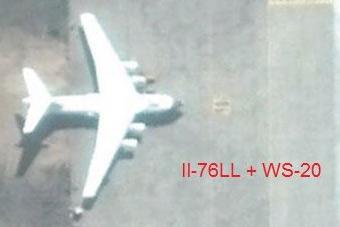 中国这架伊尔-76有点与众不同