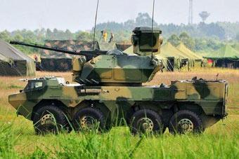 神弓铁骑!从轮式35高炮看中国步战车主炮发展