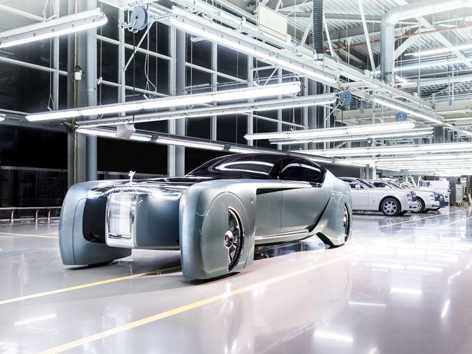 劳斯莱斯Vision Next 100概念车发布 未来感十足