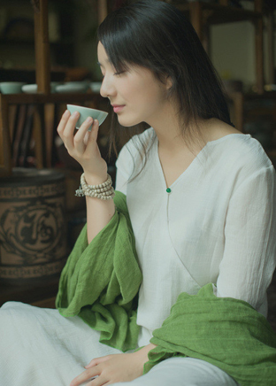来一杯茶,女汉子变女神