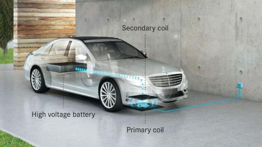 奔驰2017款S-Class将支持无线充电功能