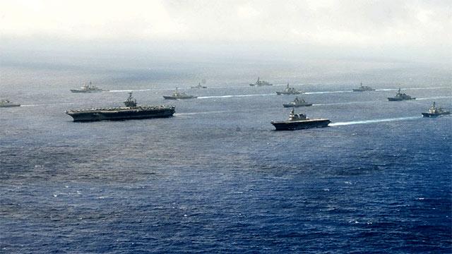 美日印海上演习联合向中国施压