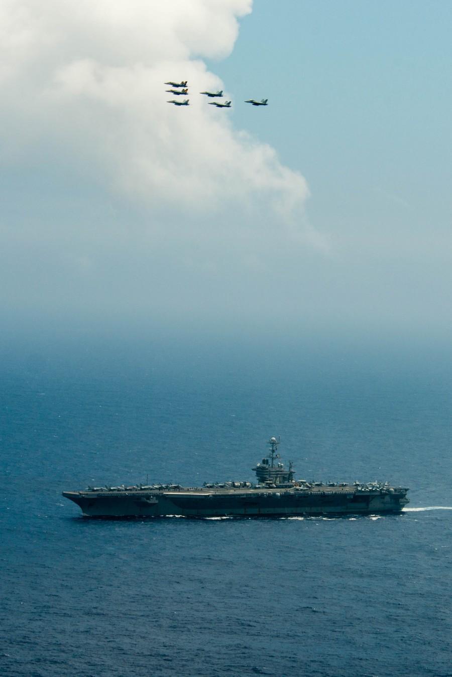 专家:美军两大舰队合力封堵中国 威胁史无前例【图】 - 春华秋实 - 春华秋实 开心快乐每一天