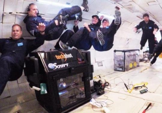 科学家首次在零重力状态下3D打印出人类组织