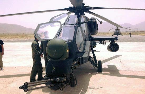 疑似T129武直在巴基斯坦测试