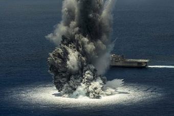 美濒海战舰完成全舰冲击试验