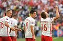 库巴破门波兰1-0胜次名出线 乌克兰出局