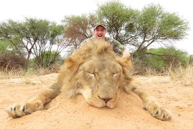 瑞典男子猎杀并食用南非野生动物引众怒