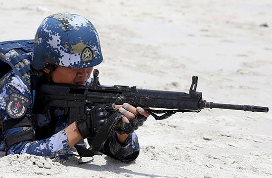 中泰联合军演上这款步枪抢眼