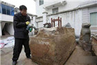 工地挖出700年神秘木箱
