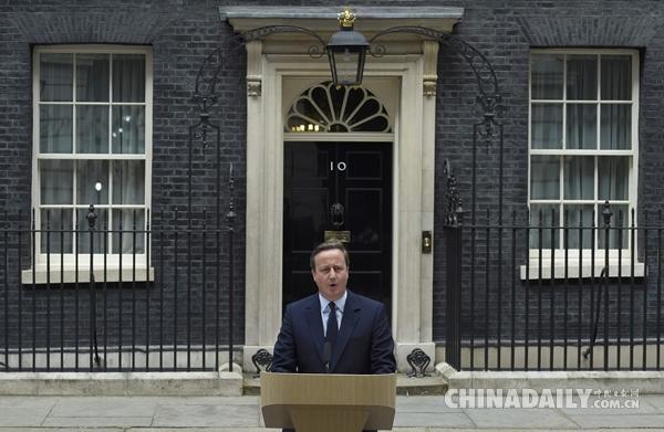 公投逼近 卡梅伦大声疾呼:是英国人就不脱欧
