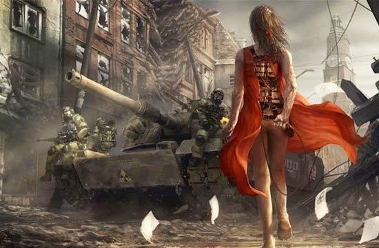 核战争之后的末日世界是啥样