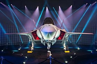 以色列迎来第一架F-35A战斗机