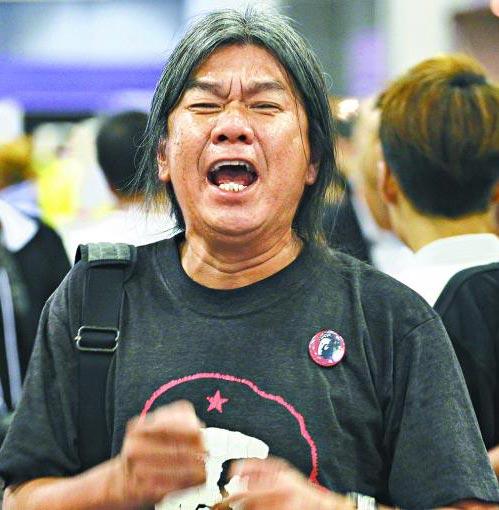 香港廉署拘捕并控告反对派议员梁国雄 涉嫌公职人员行为失当
