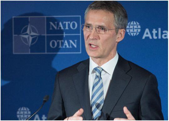 北约秘书长称英国留在欧盟有利该组织