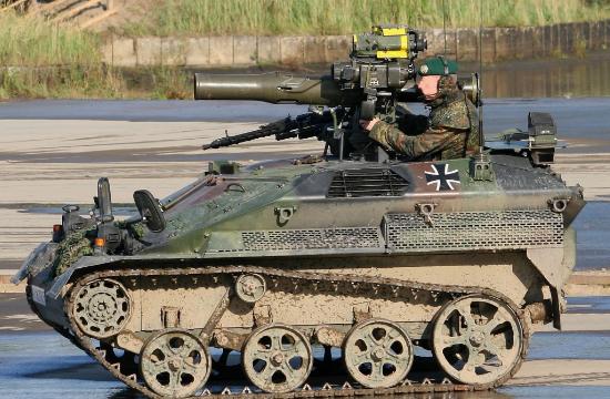 萌萌的陶氏反坦克导弹突击车