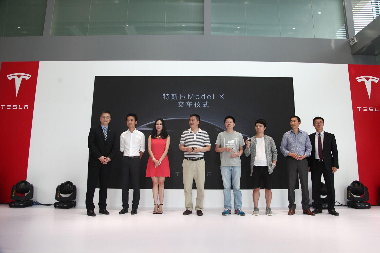 特斯拉Model X中国市场正式交付 首批交付6辆