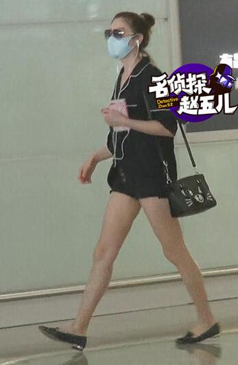 张雨绮穿超短热裤现身 一大波美腿福利来了