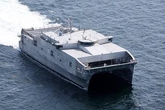 美第七艘远征快速运输舰交付