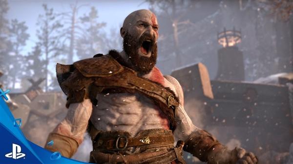 《战神4》榨干PS4性能:百人同屏激战!
