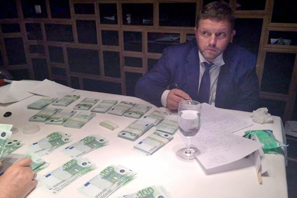 俄罗斯一州长受贿被抓现行 贿金高达40万欧元