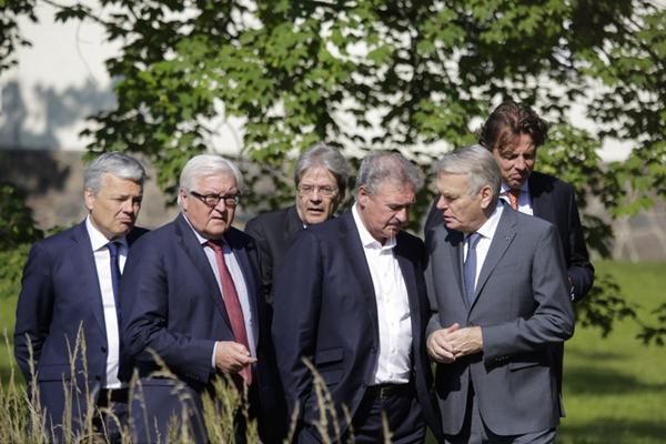 欧盟创始成员国外长在柏林会晤 就英国脱欧交换意见