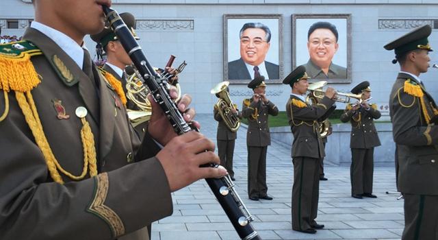 """朝鲜举行大规模群众集会纪念""""反美斗争日"""""""