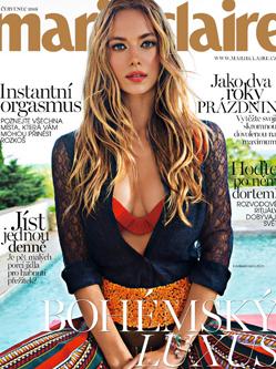 美国名模汉娜·弗格森杂志写真