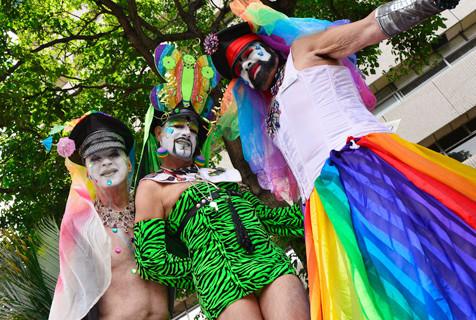 哥斯达黎加举行同性恋骄傲大游行