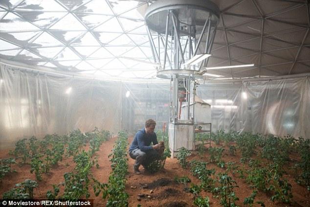 火星上种菜将成为现实 宇航员动手丰衣足食